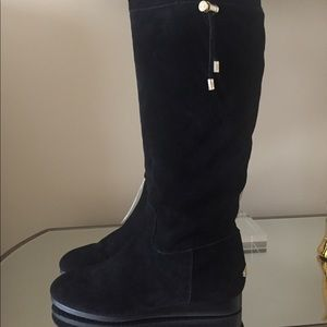 Brand New MK Michael Kors suede boots Sz 10
